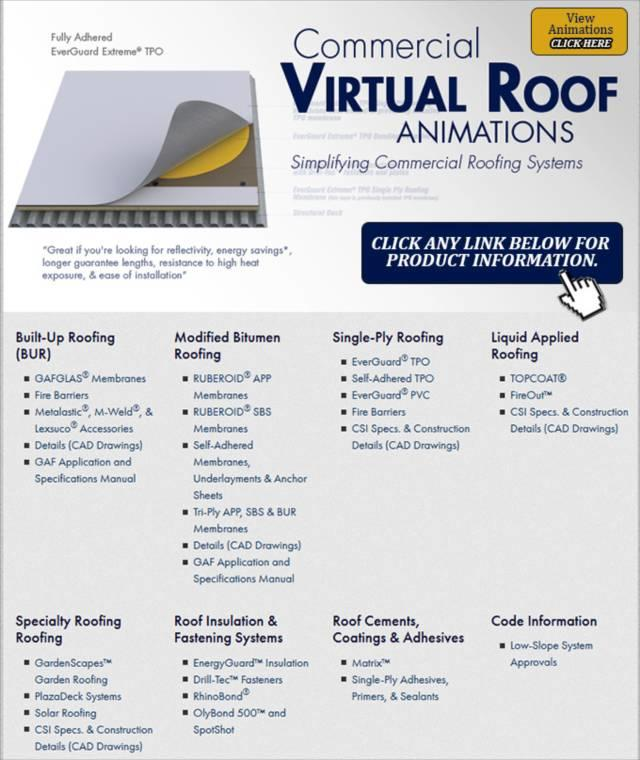 Virtual Roof Animations  sc 1 st  Gu0026L Roofing & GAF Commercial Roofing memphite.com